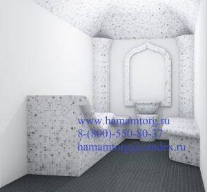 Проект готового хамама 00